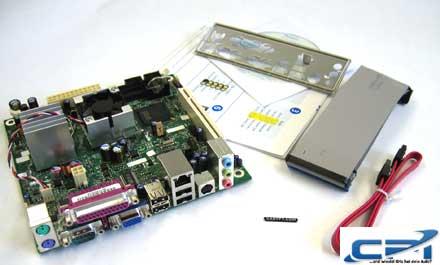 Intel D945GCLF2 ! Weltweit erster Testbericht zum neuen Intel ITX Dual-Core Atom Mainboard !
