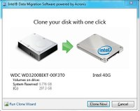 Intel HDD zu SDD Clone Freeware-Tool