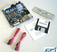 Weltweit erstes Review : Intel DG45FC ITX Mainboard