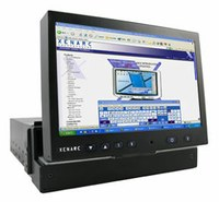 700IDT - In-Dash VGA Touchscreen Monitor