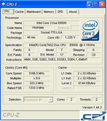 Intel_DQ45EK_CPUZ1