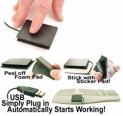 Touchpad-Übersicht